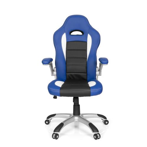 RAYCER SPORT - Gamingstuhl Schwarz / Weiß / Blau