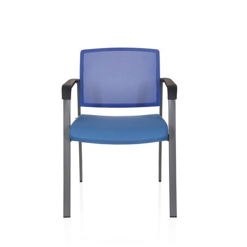 MEET - Besucherstuhl Konferenzstuhl Blau