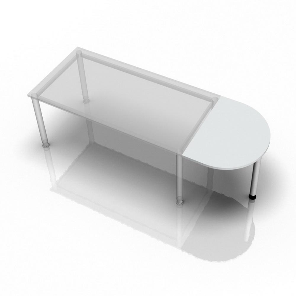RA60 - Ansatztisch 60x80 Grau